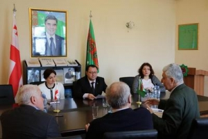 Embassy of Turkmenistan in Georgia held a briefing dedicated to the First Caspian Economic Forum