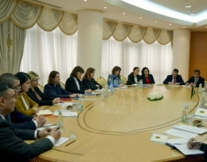 MEETING IN THE MFA OF TURKMENISTAN WITH THE REPRESENTATIVES OF THE UN AND ITS STRUCTURAL AGENCIES WORKING IN THE COUNTRY