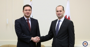 The Georgian Foreign Minister has held a meeting with his Bulgarian counterpart