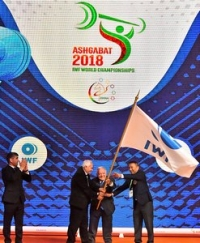 Closing ceremony of the World Weightlifting Championship takes place