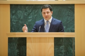 Archil Talakvadze elected Chairman of Parliament