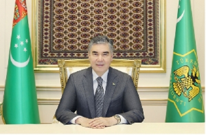 Telephone conversation between President of Turkmenistan and IRI President