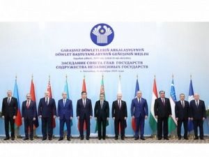 Ashgabat hosts the meeting of Council of Heads of CIS States under the Chairmanship of President of Turkmenistan