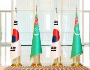 TELEPHONE CONVERSATION OF THE PRESIDENT OF TURKMENISTAN WITH THE PRESIDENT OF THE REPUBLIC OF KOREA